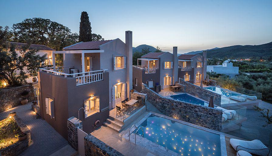 Avdou collection suites private pools